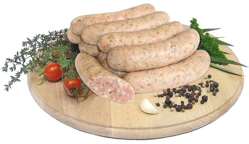 Scalded white sausage – kiełbasa biała parzona