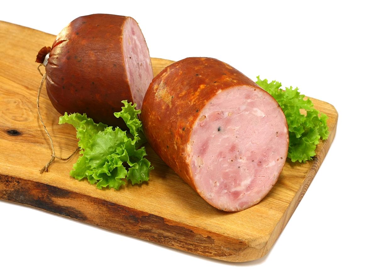 Kiełbasa szynkowa ze wsi – Country ham sausage