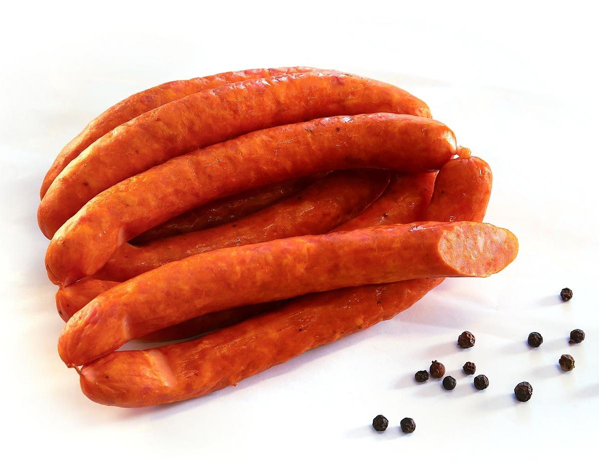 Kiełbaski chilli